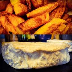 vendredi midi, fondu frites à l'Alzire