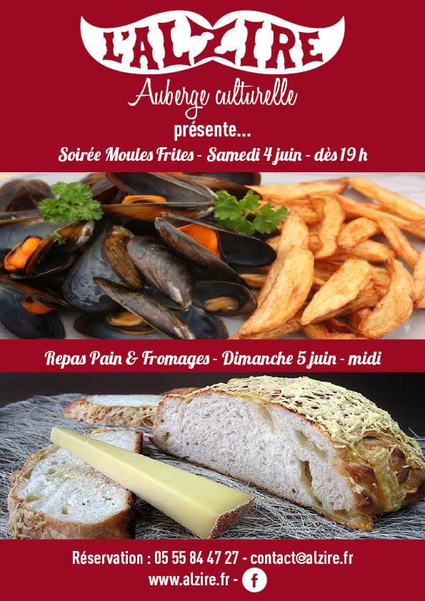 week-end gourmand 4et5 juin